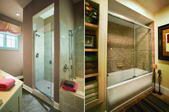 Baco shower doors