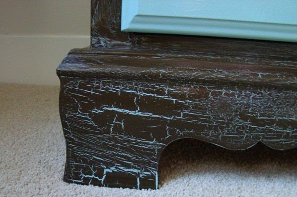 crafts, faux finish, crackled paint