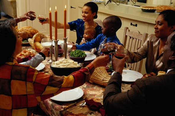 Thanksgiving, dinner