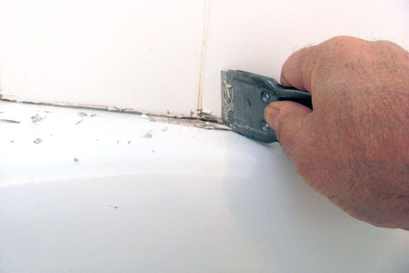 how to use sanded grout caulk