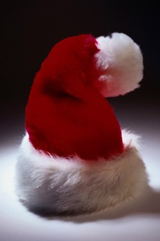 Santa hat, Christmas decorations