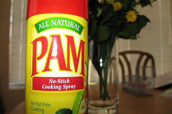 cooking spray uses, PAM