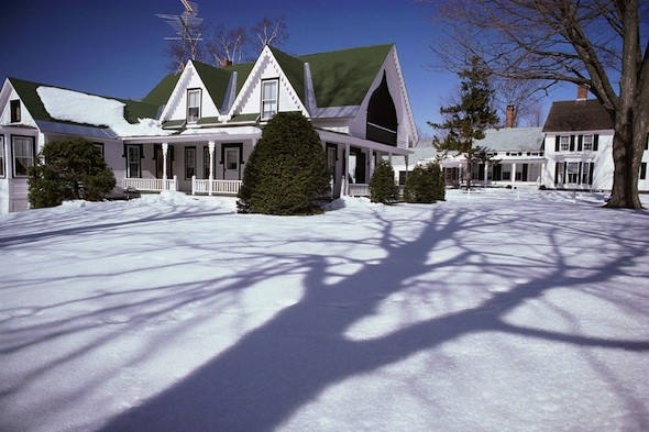 curb appeal, winter wonderland