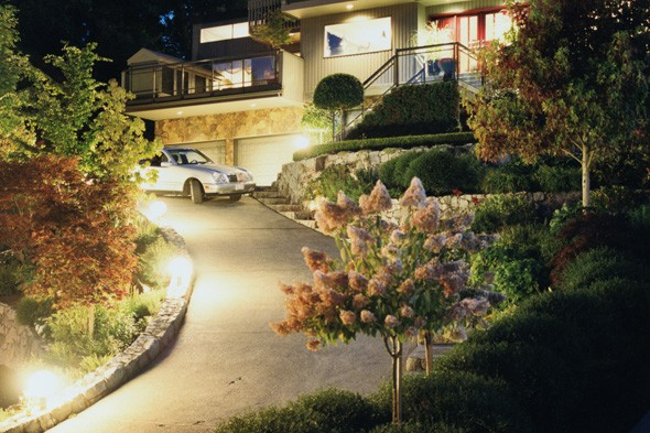 curb appeal, landscape lighting