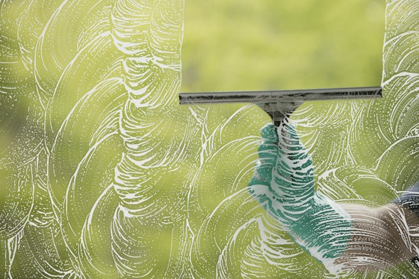 cornstarch uses, cleaning windows