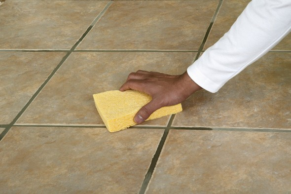 how to clean floor tile grout grout cleaning diy