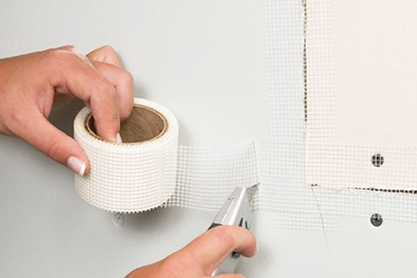 Mesh Sheetrock Tape : Do it yourself drywall repair — renovations