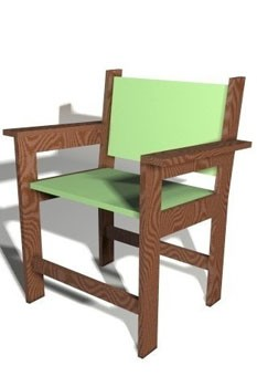 PlanCanvas chair, DIY furniture plans, DIY chairs