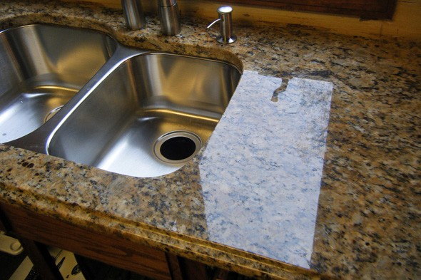 Carlosca01 Granite Countertop Fake It Till You Make It