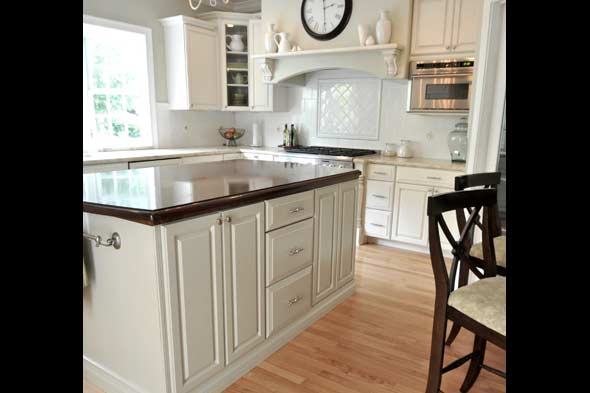How to - How to glaze kitchen cabinets that are painted ...