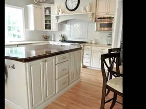 Painting Kitchen Cabinets How to DIY - Energy Saving Insulating