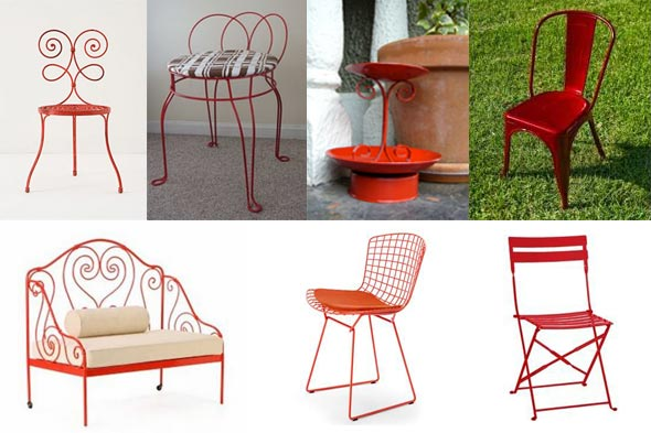 Paint Metal Patio Furniture Images