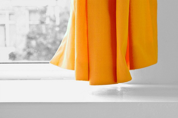 Frugal Ways To Hang Curtains | ThriftyFun