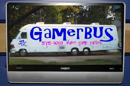 GamerBUS provides mobile Xbox 360 LAN parties