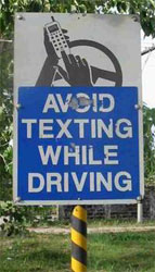 Washington first state to ban texting while driving