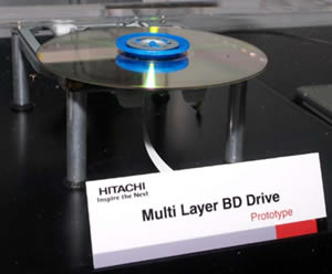 Multi-Layer Blu-ray Drive