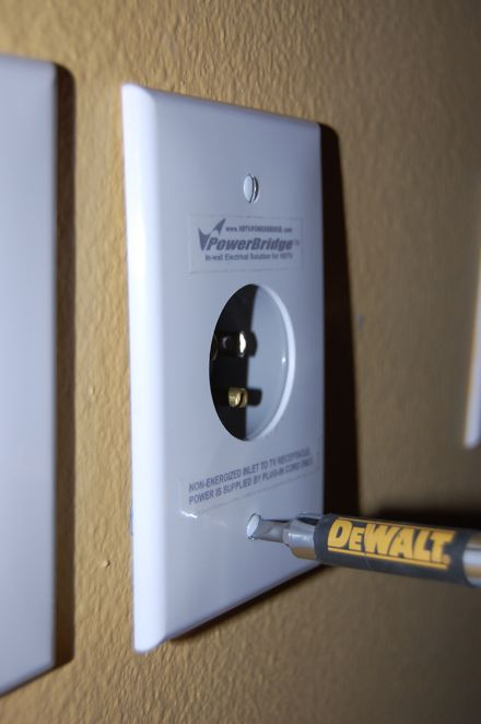How To Run Power To A Wall Mounted Tv