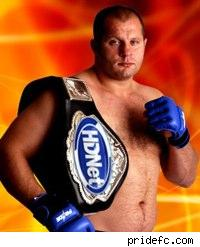 PRIDE heavyweight champ Fedor Emelianenko