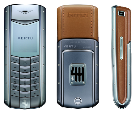 Vertu does it again, crafts second Ferrari phone for $25K