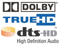 TrueHD and DTS-HD logo