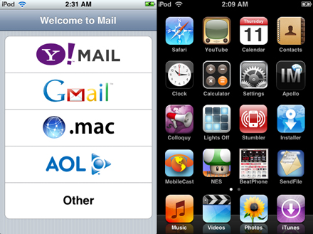 Apps On iPod Touch