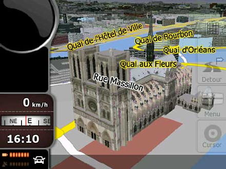 Nav N Go iGO8 3D navigation software on PSP, elsewhere