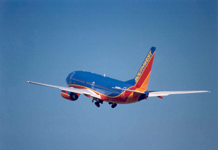 Southwest airlines to test in flight wifi via satellite for Southwest airlines free wifi