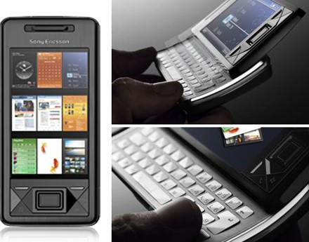 Sony Ericsson's XPERIA X1 QWERTY with Windows Mobile and HSUPA