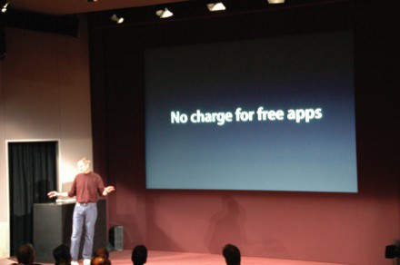 Free. When they want to distribute their app free, there's NO charge to ...