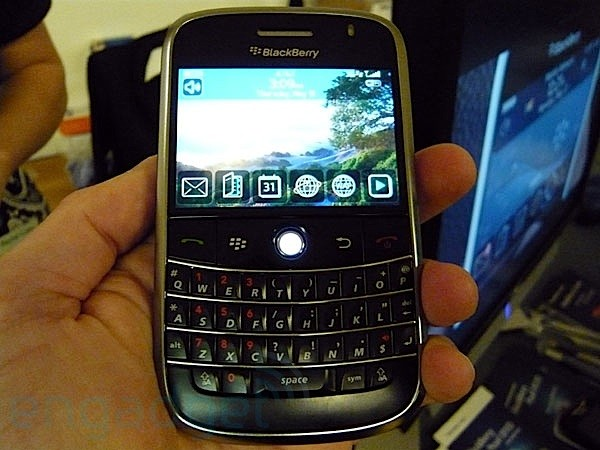 Blackberry Bold hands-on