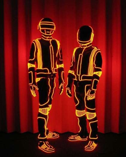 daft punk light suit