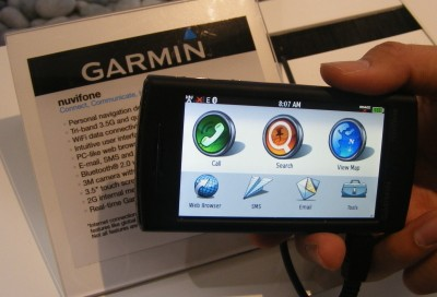 Garmin Nuvifone hands-on