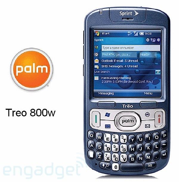 Treo 800 Product Shot