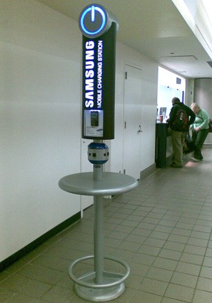 Samsung Brings Mobile Charging Stations To Msp Airport