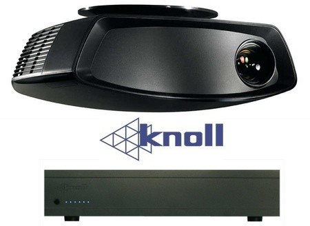 Knoll HDP460 projector and GS12 amplifier