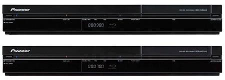 Pioneer BDR-WD900 and BDR-WD700 Blu-ray recorders