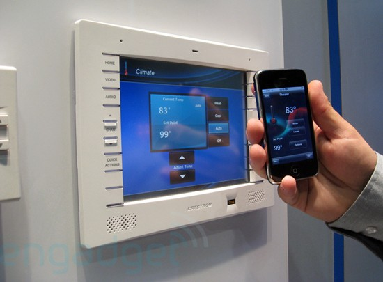 Crestron home automation for Home automation system