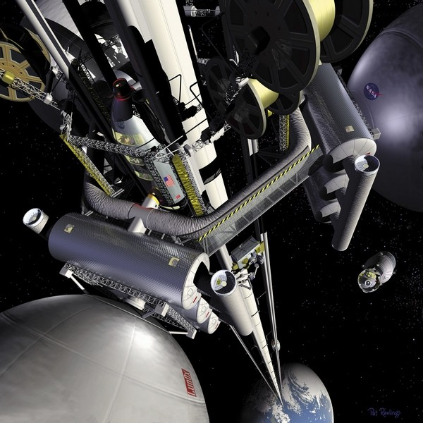 Japan making plans to build its own damn space ladder