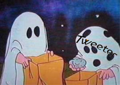 Charlie Brown Halloween Tweeter
