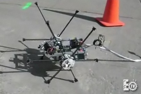 Video: Virginia Tech's IMPASS robot has spokes, but no rims