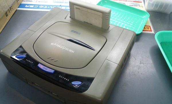 Deceased Sega Saturn donates skin, peripherals to Atom PC