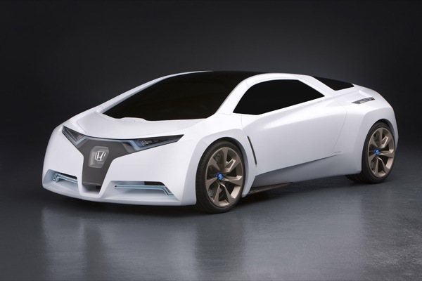 Honda's FC Sport fuel-cell hybrid debuts in a puff of conceptual smoke
