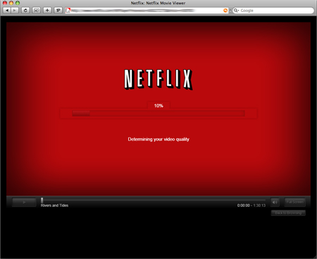 Netflix 'Watch Now' on Mac