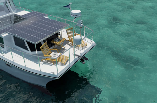 Yachts are usually pretty environmentally unsound, so the DSe Hybrid just ...