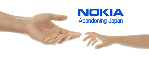 Nokia pulls out of Japan, once again, nobody notices