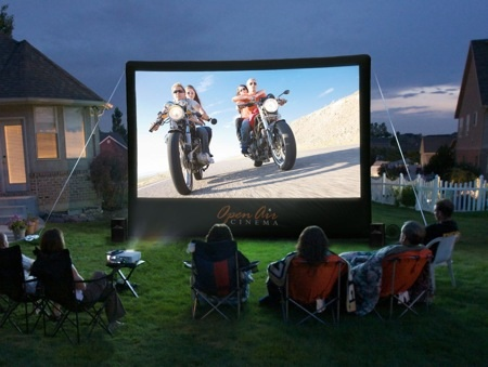 Open Air Cinema screen