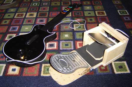 Guitar Pedals a 'guitar Hero' Foot Pedal
