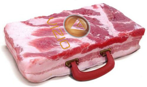 VIZIO bacon briefcase