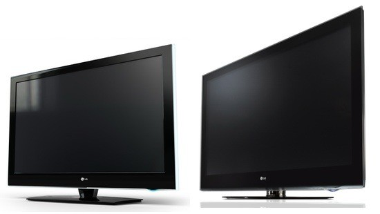 LG LH50 LCD and PS80 plasma TVs