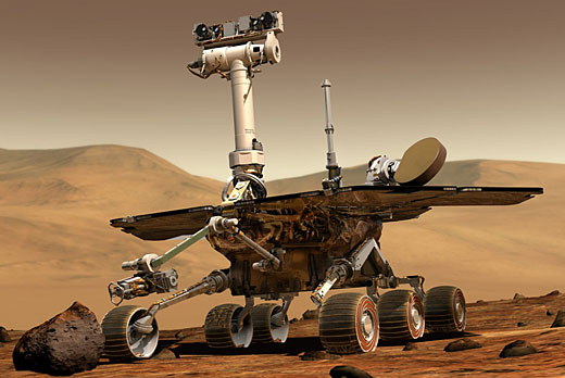 Mars rovers mark off five years of tireless servitude to humanity, boredom